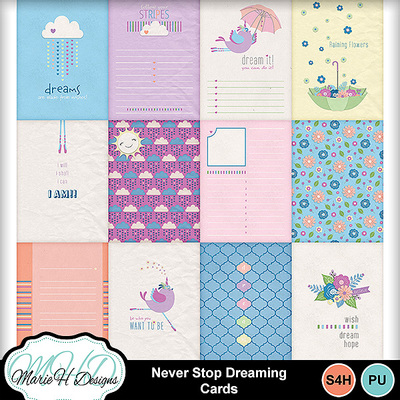 Never_stop_dreaming_cards