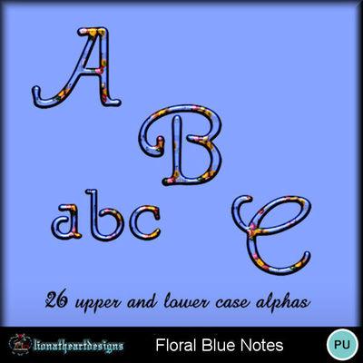 Floral_blue_notes_