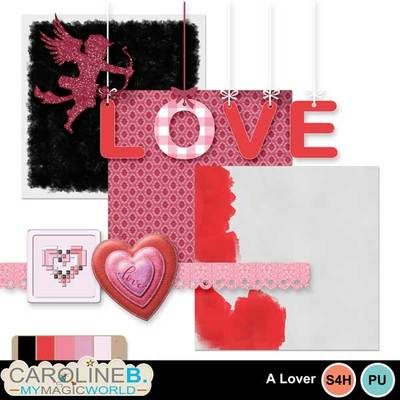 FaCraft Valentine Scrapbook Kits for Lovers Red Heart