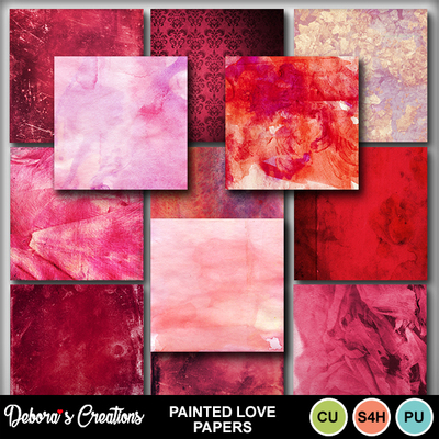 Painted_love_papers