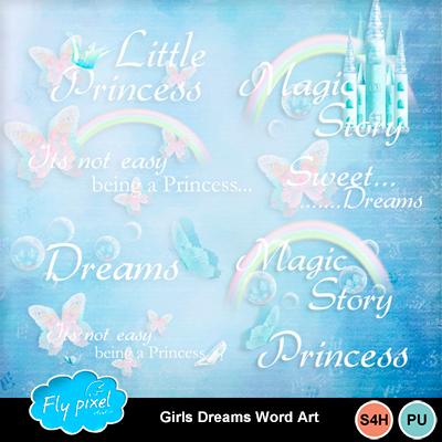 Girls_dreams_word_art