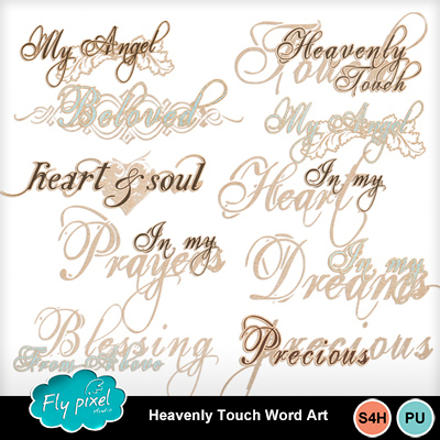 Heavenly_touch_word_art