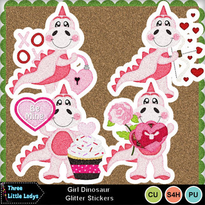 Girl_dinosaur_glitter_stickers-tll