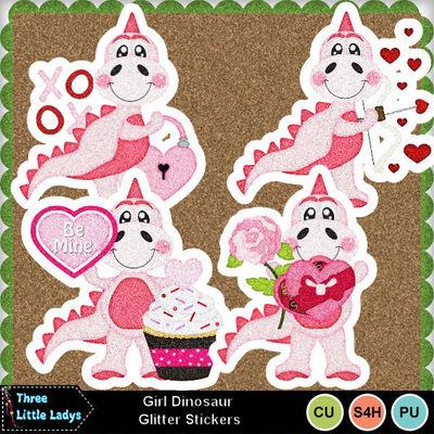 Girl_dinosaur_glitter_stickers-tll
