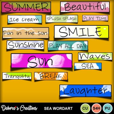 Sea_wordart