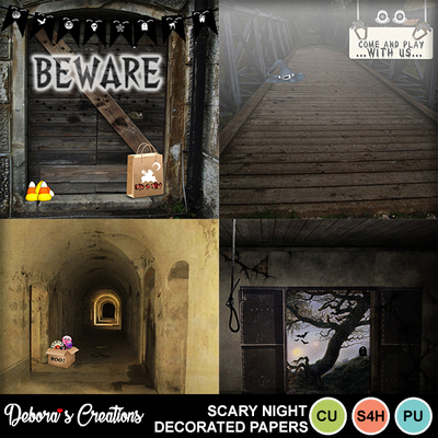 Scary_night_decorated_papers