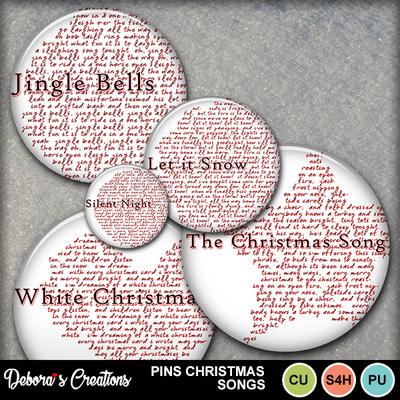 Pins_christmas_songs