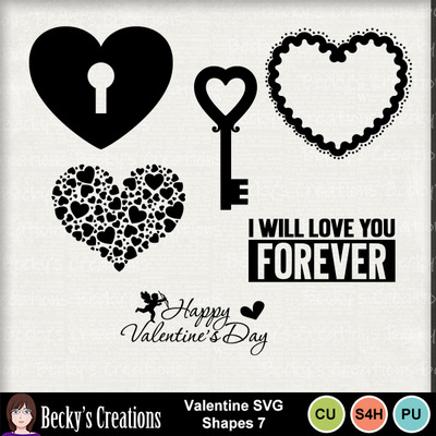 Valentine_svg_shapes_7