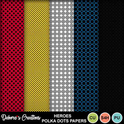 Heroes_polka_dots_papers