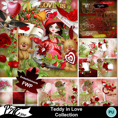 Patsscrap_teddy_in_love_pv_collection