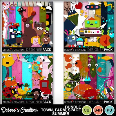 Bundle_town_far_space_summer