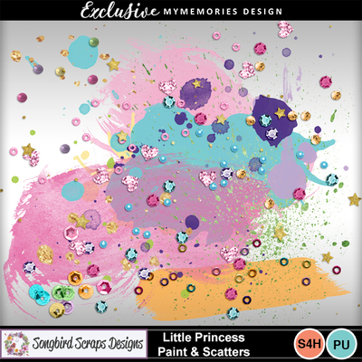 Little_princess_paint___scatters