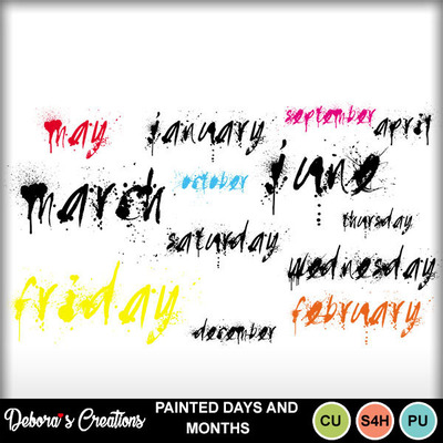 Painted_days_and_months