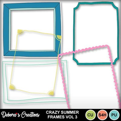 Crazy_summer_frames_vol_3