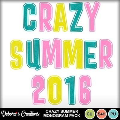 Crazy_summer_monogram_pack