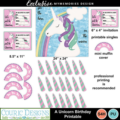 A_unicorn_birthday_printable