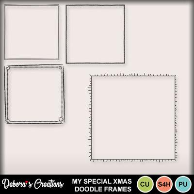 My_special_xmas_doodle_frames