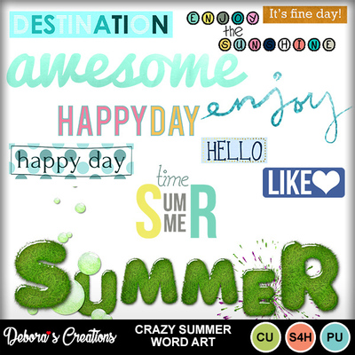 Crazy_summer_wordart