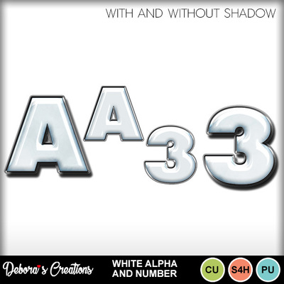 White_alpha_and_numbers