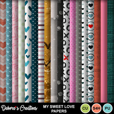 My_sweet_love_papers