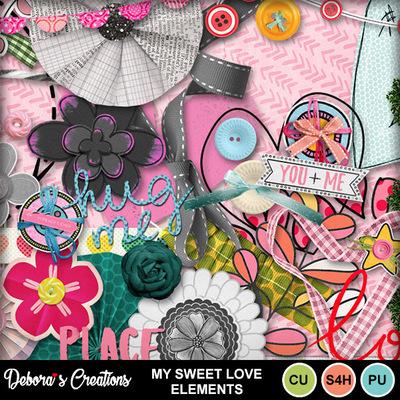 My_sweet_love_elements