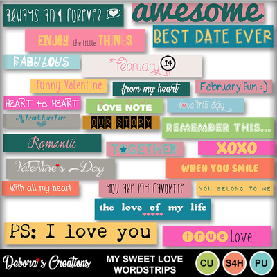 My_sweet_love_wordstrips