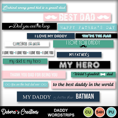 Daddy_wordstrips
