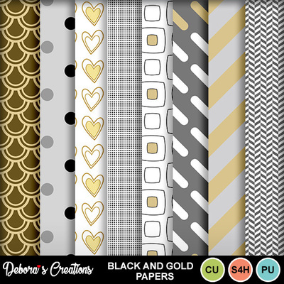 Black_and_gold_papers