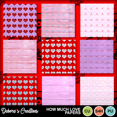 How_much_love_paper_pack
