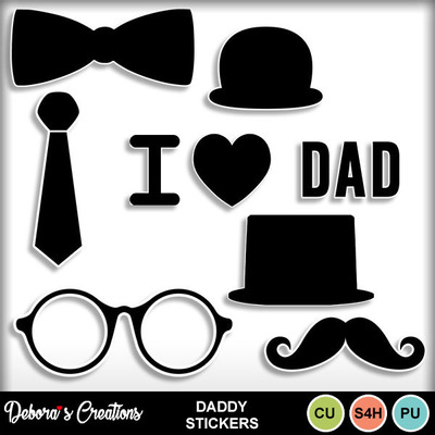 Daddy_stickers
