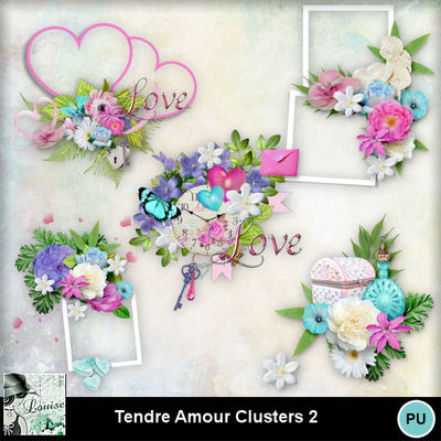 Louisel_tendre_amour_clusters2_preview