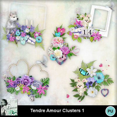 Louisel_tendre_amour_clusters1_preview