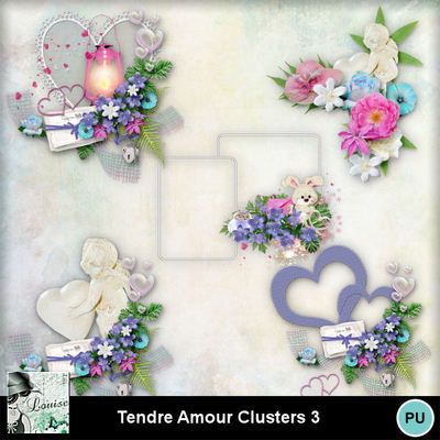Louisel_tendre_amour_clusters3_preview