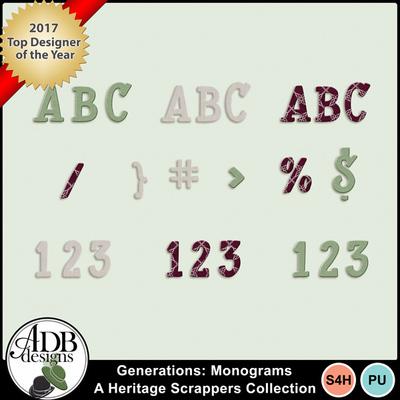 Generations_hsc_monograms