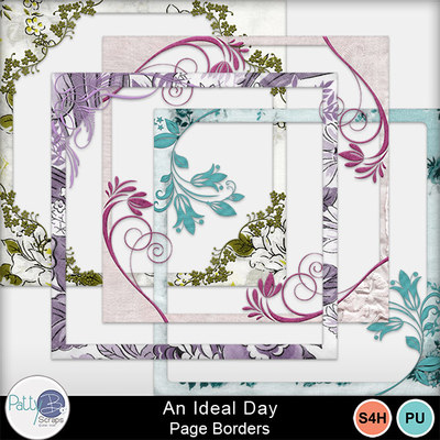 An_ideal_day_page_borders