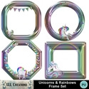 Unicorns___rainbows_frame_set-01_small