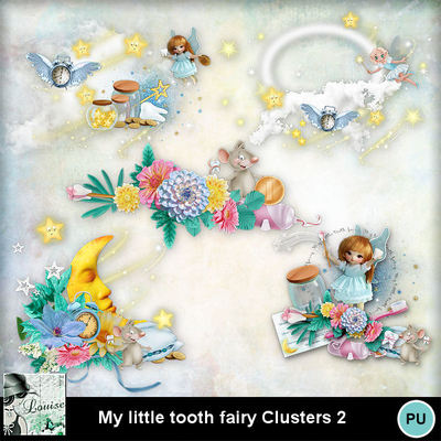 Louisel_my_little_tooth_fairy_clusters2_preview