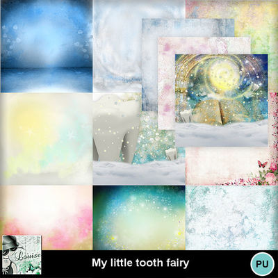 Louisel_my_little_tooth_fairy_papiers1_preview