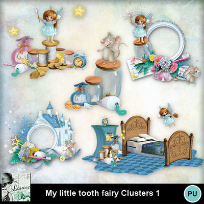 Louisel_my_little_tooth_fairy_clusters1_preview