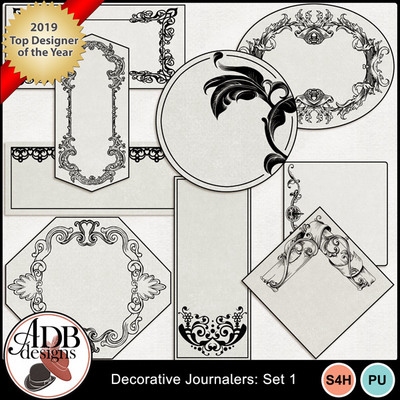 Decorativejournalers_set01