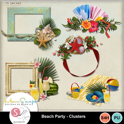 Beachpartyclusters