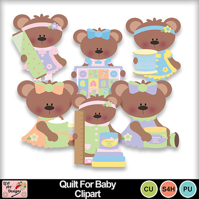 Quilt_for_baby_clipart_preview