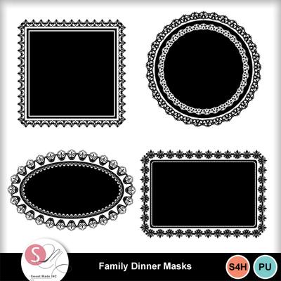 Familydinner-masks