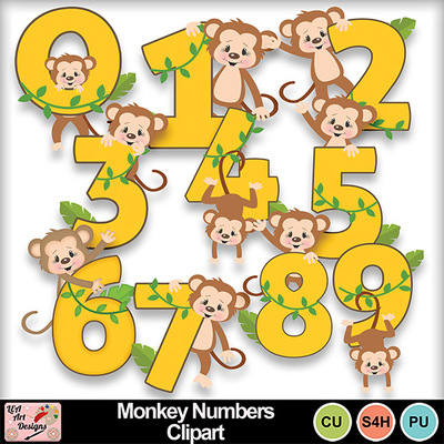 Monkey_numbers_clipart_preview