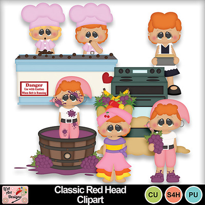 Classic_red_head_clipart_preview