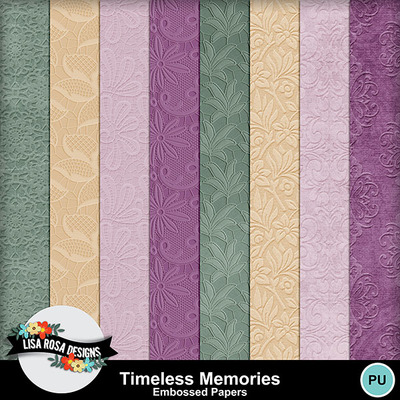 Lisarosadesigns_timelessmemories_embossepapers