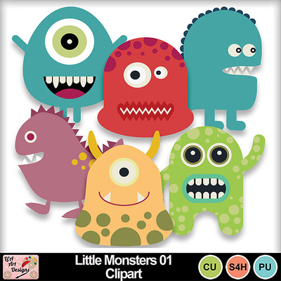 Little_monsters_01_clipart_preview
