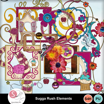 Shugga_rush_elements