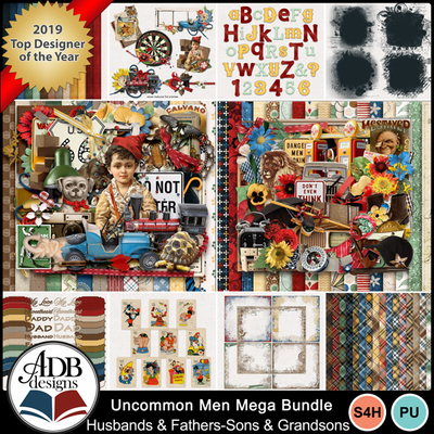 Uncommonmen_mega_bundle