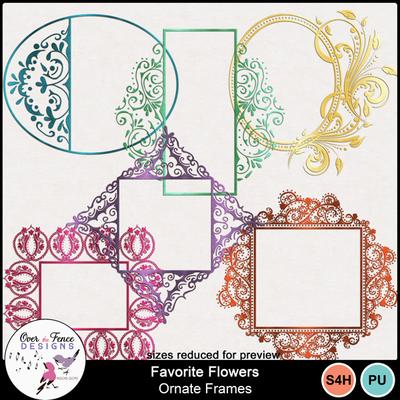 Nefavorite_flowers_orn_frames